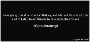 Middle School Quotes Children