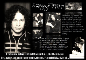 Ray Toro Wallpaper | Ray Toro Desktop Background: