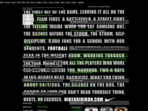 Nike Football Quotes - Perfect For Seeing Background MySpace Layout ...