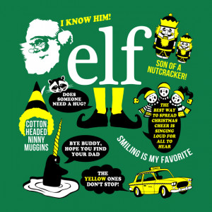 Buddy the Elf Quotes T-Shirt