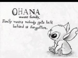 Family love, Ohana   Tumblr