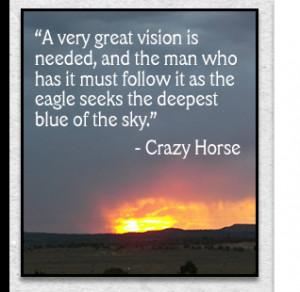 crazy horse quotes