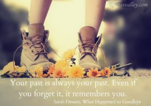 Your Past If Always Your Past