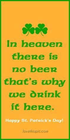 beer humor pinterest pinterest quotes st. patrick's day quotes irish ...