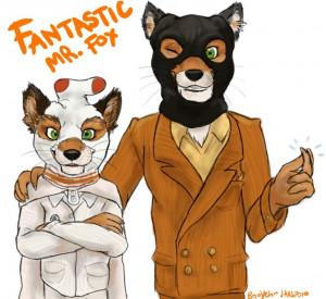 Ash and Mr Fox - Fantastic Mr. Fox Fan Art (11218996) - Fanpop ...