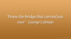 George Colman Quote