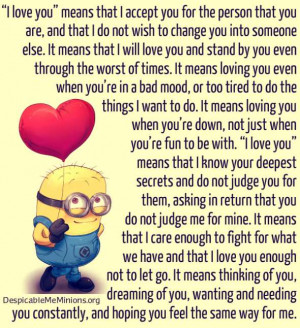 Minion Sad Quotes For Whats App