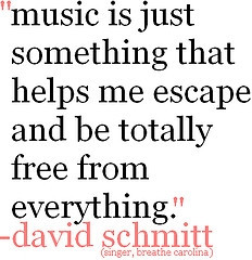 Music makes the world go round!