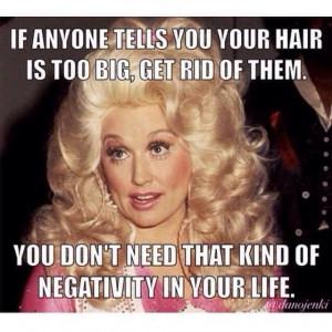 Dolly Parton Big Hair
