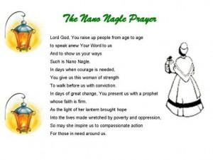 history of nano nagle nano full name honora nagle was