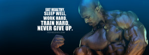 Ronnie Coleman - Quotes FB Timeline Cover