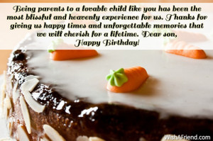 Happy Birthday Quotes Son To Mother ~ Happy birthday wishes for a son ...