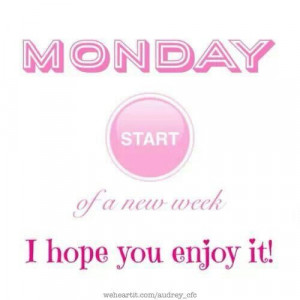 Start of a new week