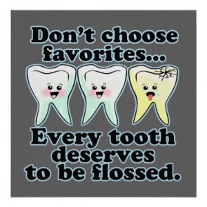 Funny Dental Office Artwork Posters