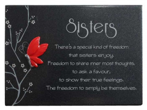 happy birthday to a funny sister quotes poems: Sisters Birthday Quotes ...