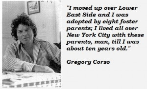 Gregory corso quotes 2