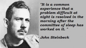 John Steinbeck Famous Quotes
