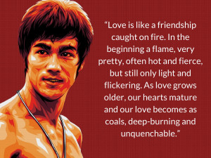 Bruce Lee Love Quote 2015