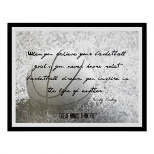 Basketball Poster with #Quote 008 > Sold today > Thank you, Happy New ...