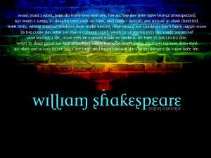 William Shakespeare Quotes HD Wallpaper 16
