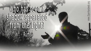 Light darkness rumi quote 16:9