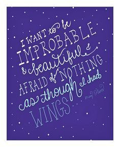 ... tween art mary oliver quote ombre print on etsy $ 12 00 best stuff