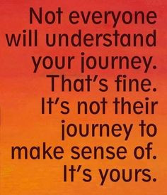 ... people don't always understand your Eating Disorder Recovery process