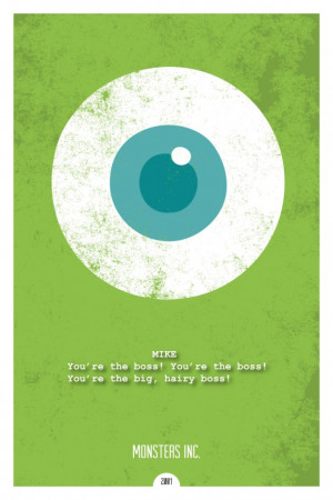 Monsters Inc min poster