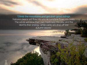 John Muir Mountains Quote