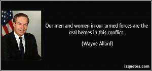 More Wayne Allard Quotes