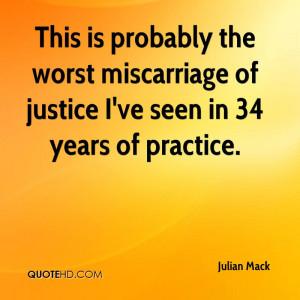 Julian Mack Quotes