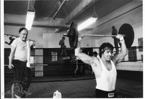 Still of Sylvester Stallone and Burgess Meredith in Rocky II (1979)