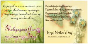 Quotes About Mothers And Daughters Tagalog Mother's day, mother's day