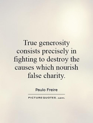 Generosity Quotes About Charity