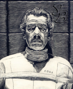 Ian McKellen as Magneto by ~BW-StraybulletThis was based of a picture ...