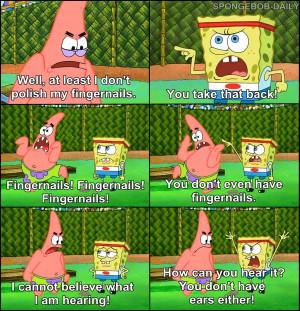 Spongebob Quotes...