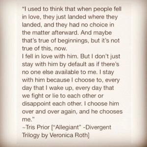 Divergent Movie Tris And Four Quotes Tris & tobias! #divergent