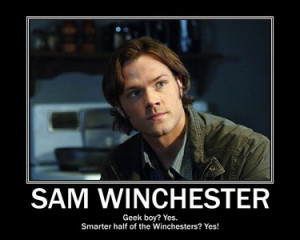 Supernatural Sam Quotes