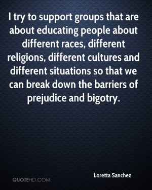 try to support groups that are about educating people about ...