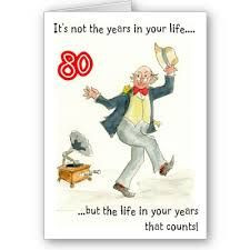 80th Birthday Quotes | 80th+birthday+cards+(13) Funny 80th birthday ...
