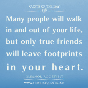 quotes about friends leaving footprints on our hearts best friend