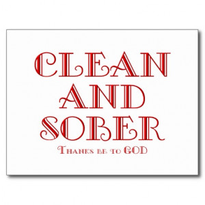clean and sober quotes