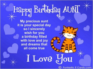 aunt poems from niece   happy birthday aunt poems image search results ...