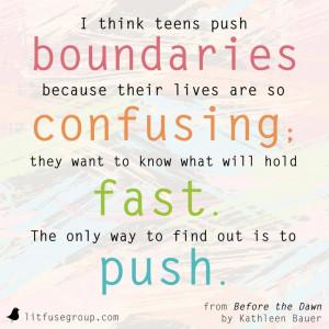 Raising teenagers #MustRead #KathleenBauer #BeforeTheDawn