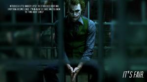 batman dc comics quotes the joker batman the dark knight jail