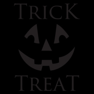 Trick Or Treat Jack o'Lantern Wall Quotes™ Decal