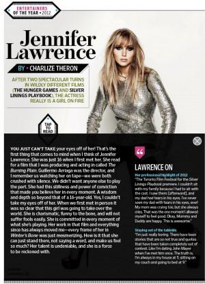 Jennifer Lawrence Quotes On Weight Jennifer lawre.