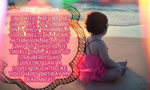Daughter Birthday Quotes & Sayings