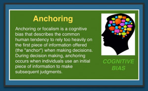Cognitive Bias - Anchoring
