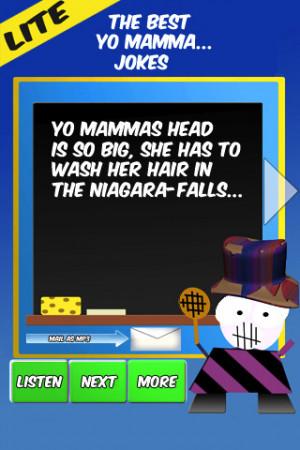 Free Yo Mamma Jokes Part 1 LITE iPhone App & Review